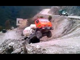 Funny road accidents , cool truck , funny tractor , funny car , funny video