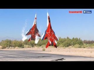 FANTASTIC Russian Mikoyan MiG-29 FORMATION